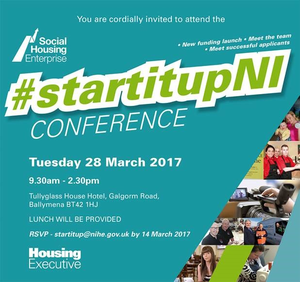 Social Housing Enterprise Conference @ Tullyglass House Hotel | Northern Ireland | United Kingdom
