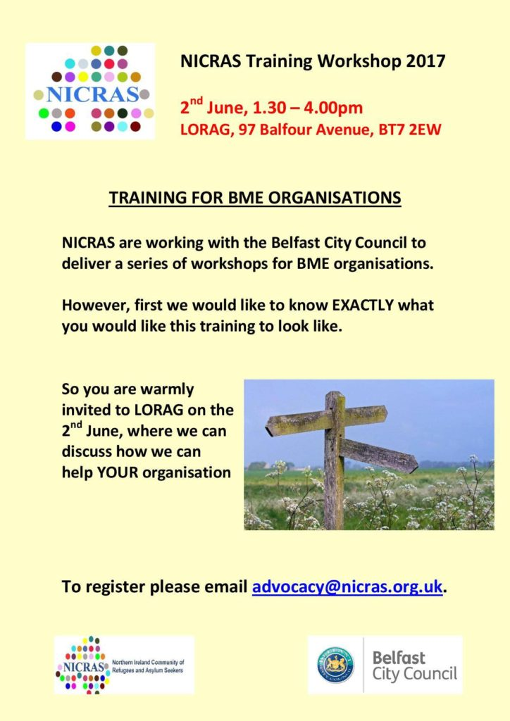 NICRAS Pre-training Workshop - Belfast @ LORAG | Northern Ireland | United Kingdom