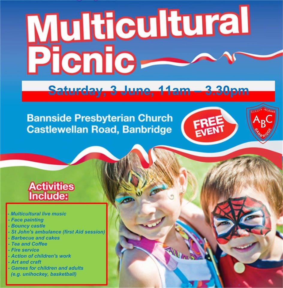 Multicultural Picnic - Banbridge @ Bannside Presbyterian Church | Northern Ireland | United Kingdom