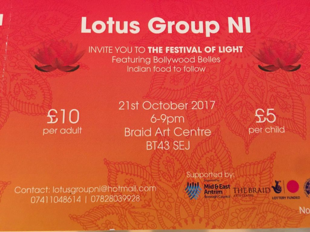 Lotus Group NI - Festival of Light @ Braid Art Centre | Northern Ireland | United Kingdom