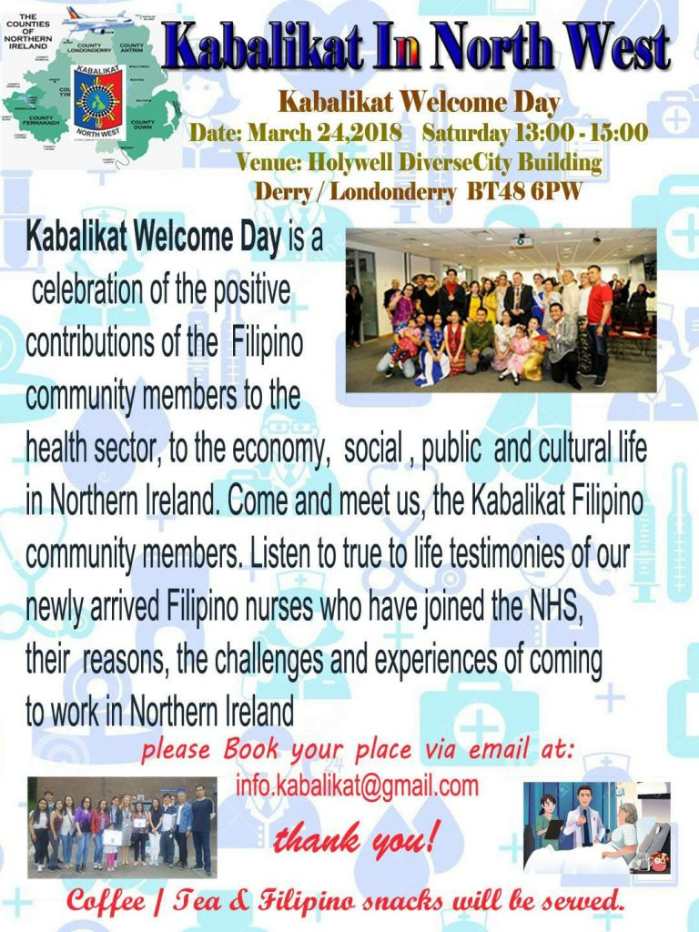 Kabalikat Welcome Day - 24 March