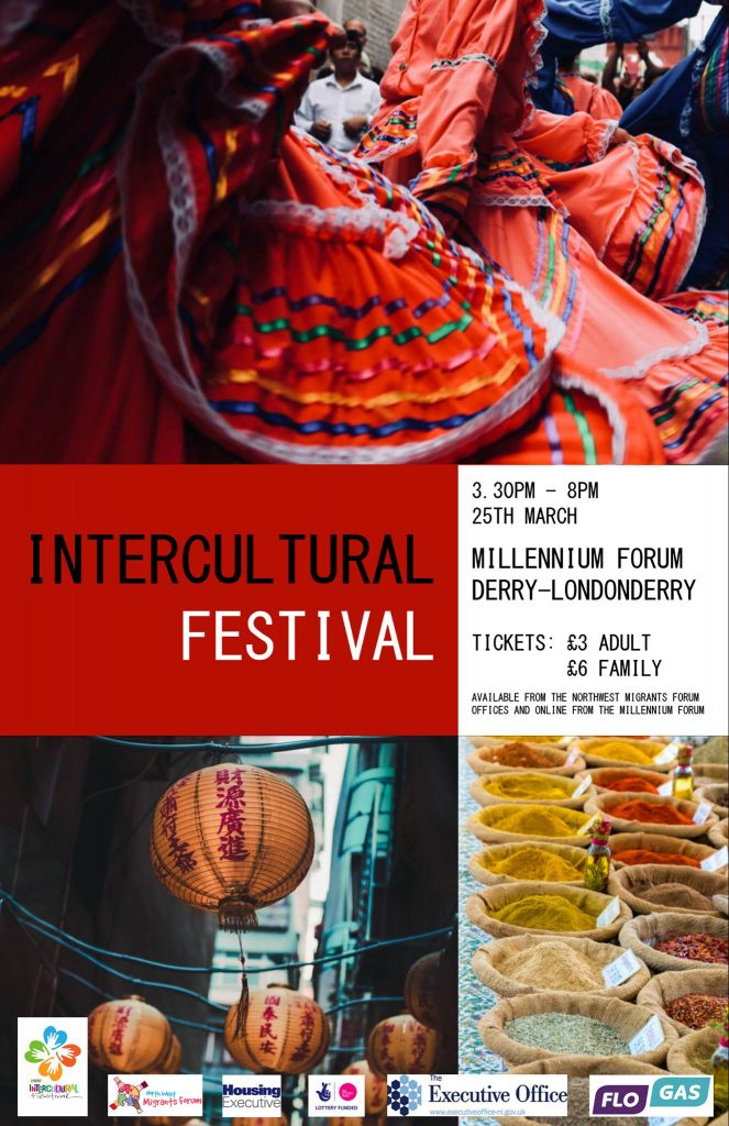 North West Migrants Forum Intercultural Festival @ Millennium Forum | Northern Ireland | United Kingdom