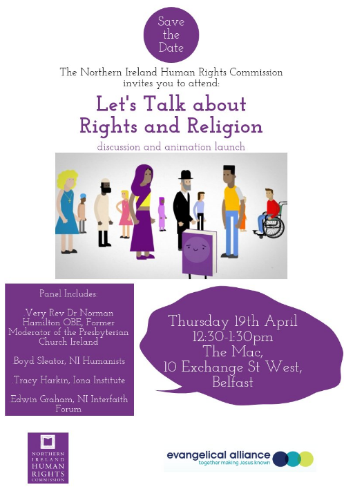 Let's Talk About Rights and Religion Discussion Panel - Belfast @ The MAC | Northern Ireland | United Kingdom