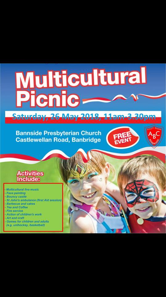 Multicultural Picnic - Banbridge @ Bannside Presbyterian Church | Northern Ireland | United Kingdom