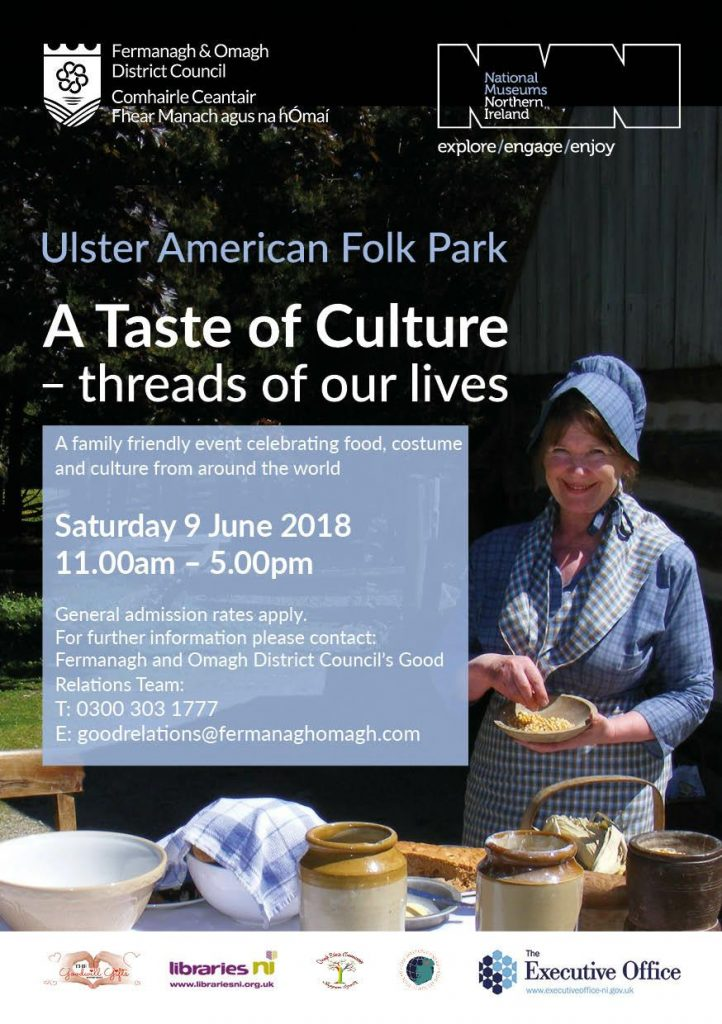 A Taste Of Culture Event - Omagh @ Omagh American Ulster Folk Park | United Kingdom