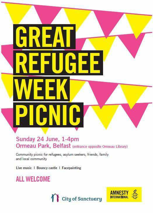 Great Refugee Week Picnic - Belfast @ Ormeau Park | Belfast | Northern Ireland | United Kingdom