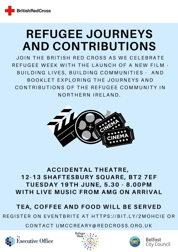 Premiere of 'Building Lives: Building Communities' film highlighting the contribution of refugees to NI society @ Accidental Theatre | Northern Ireland | United Kingdom