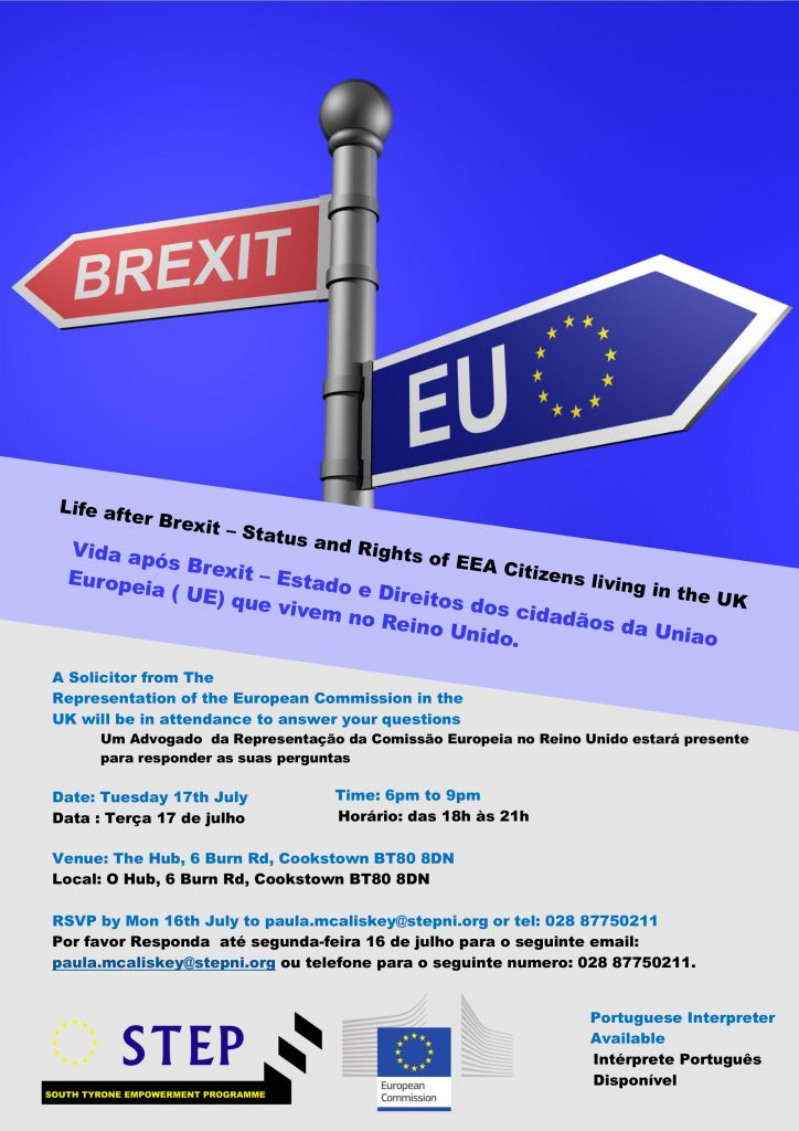 Life After Brexit. EU Commission Information Session - Cookstown @ The HUB BT80 | Northern Ireland | United Kingdom