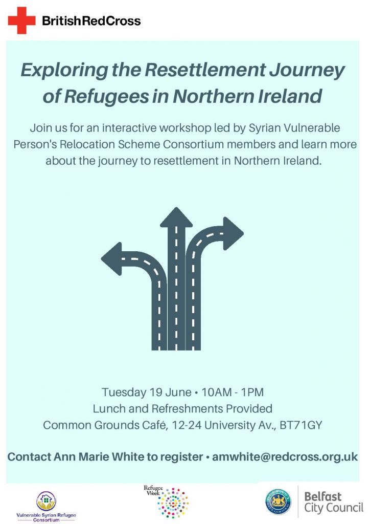 Workshop to explore the Refugee Resettlement Journey with SVPRS Consortium @ Common Grounds Cafe | Northern Ireland | United Kingdom