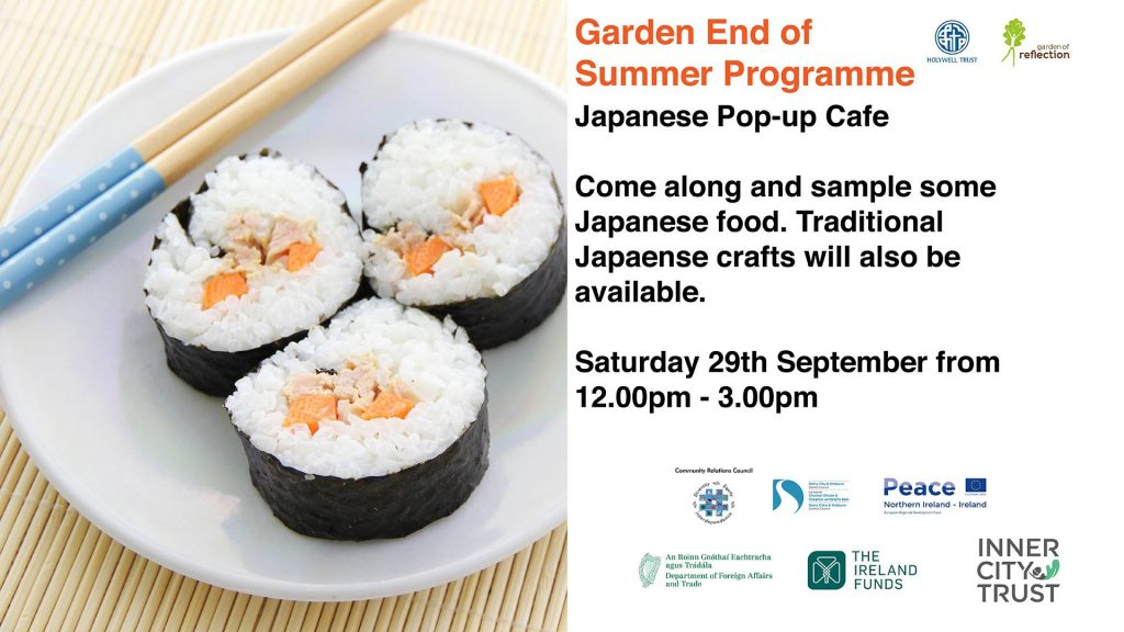 Japanese Pop-up Cafe - Derry @ Holywell Trust | Northern Ireland | United Kingdom