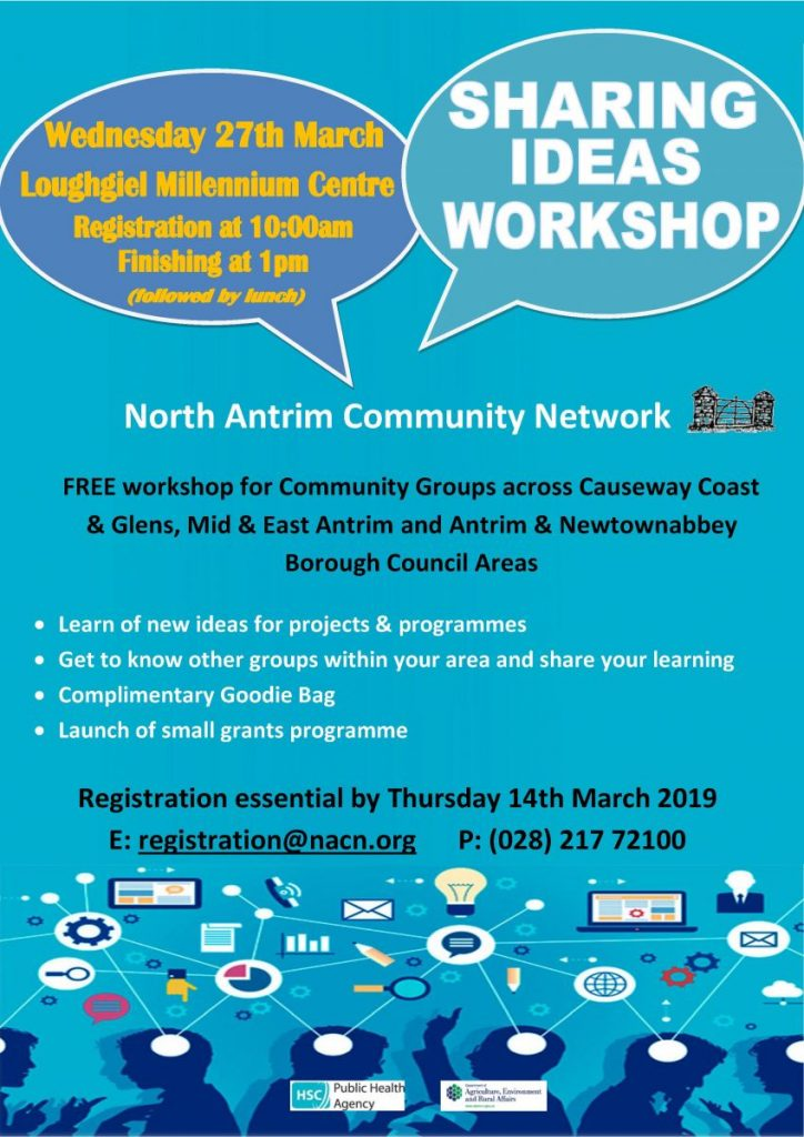 NACN Sharing Ideas Workshop - Ballymena @ Loughgiel Community Centre