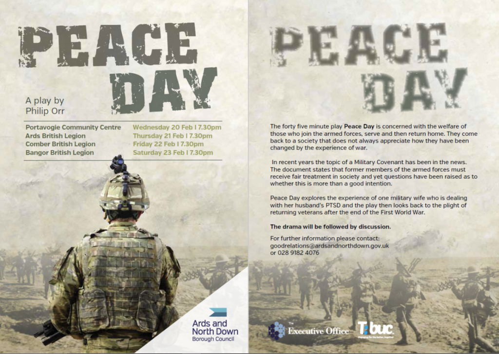 Peace Day Play - North Down  Ards @ Portavogie Community Centre