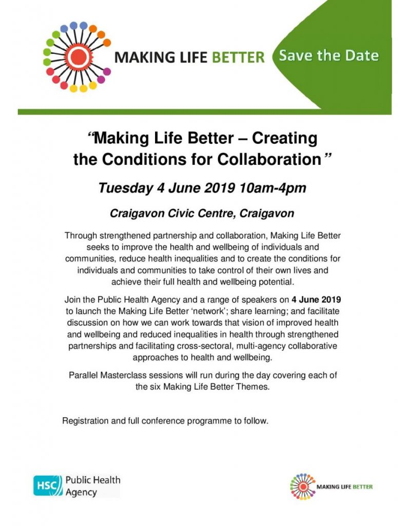 PHA Making Life Better Event - Craigavon