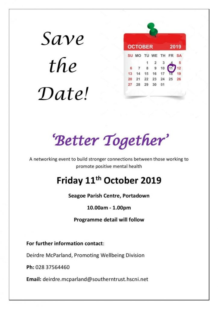 Better Together Networking Event - Portadown @ Seagoe Parish Centre