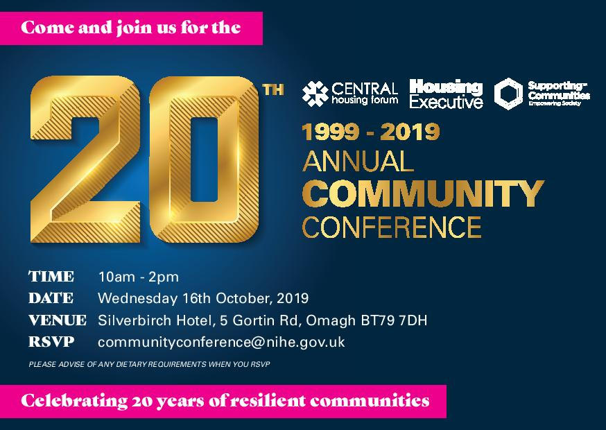 NIHE Annual Community Conference - Omagh @ Silverbirch Hotel