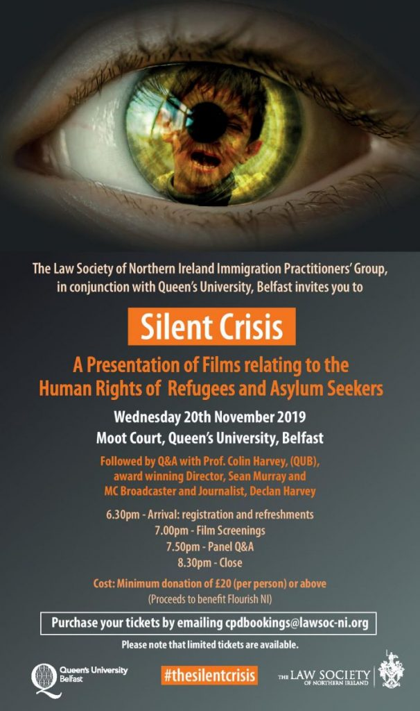 'Silent Crisis' Films Screening - Belfast @ Moot Court, QUB