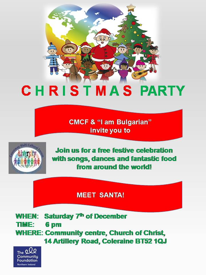 CMCF 'I am Bulgarian' Christmas Party - Coleraine