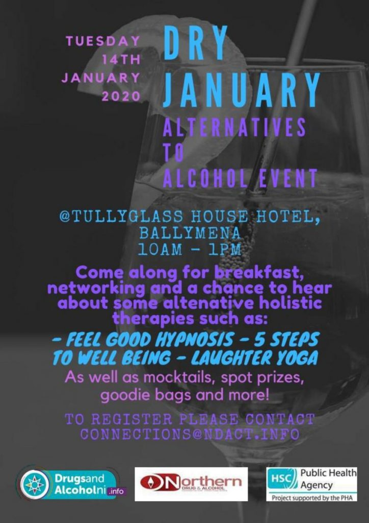 Dry January Event - Ballymena @ Tullyglass House Hotel