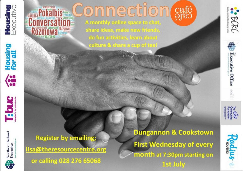 Weekly Conversation Cafe - Dungannon & Cookstown