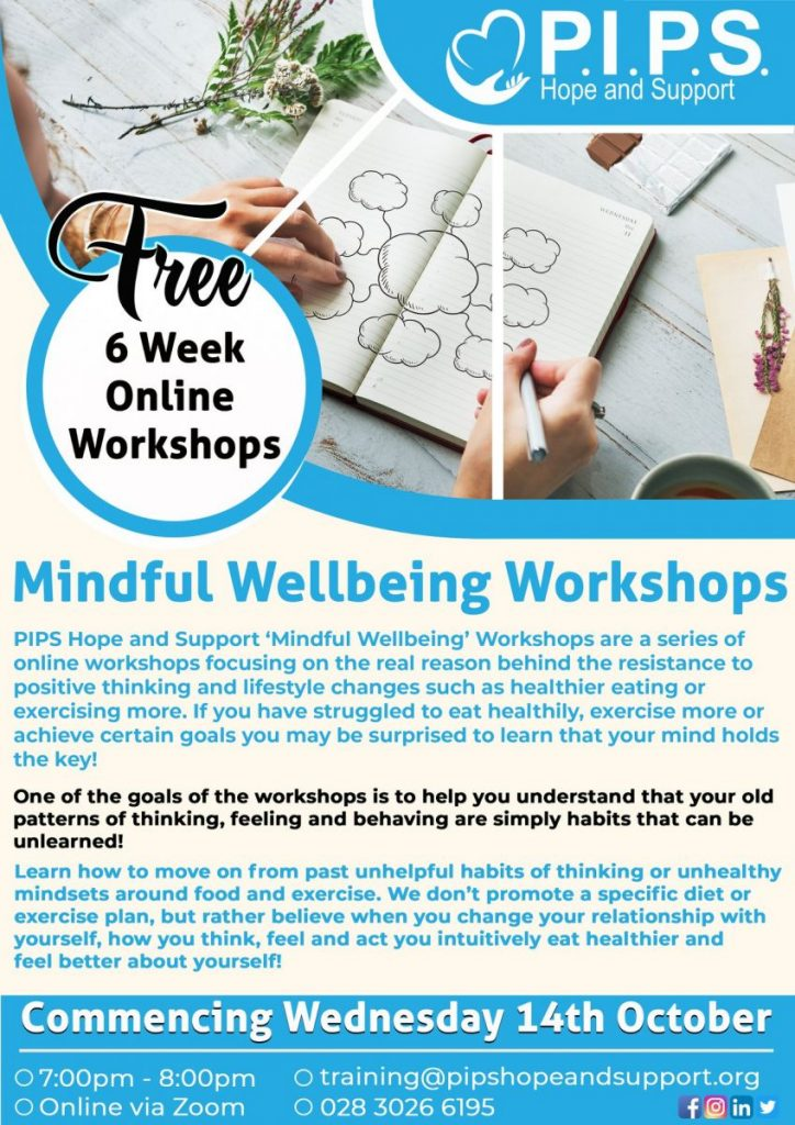 PIPs Mindful Wellbeing Workshops