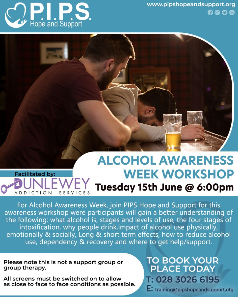 P.I.P.S. Alcohol Awareness Week Workshop