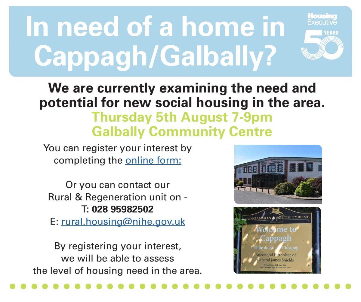 Housing Executive Meeting - Cappagh/Galbally Social Housing